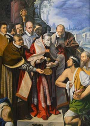 St Charles Borromeo - Communion