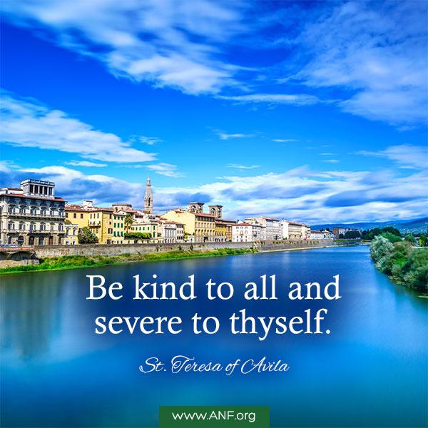 DQ170 - St Teresa of Avila (Be Kind)