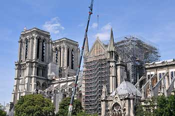Reconstruction of Notre Dame